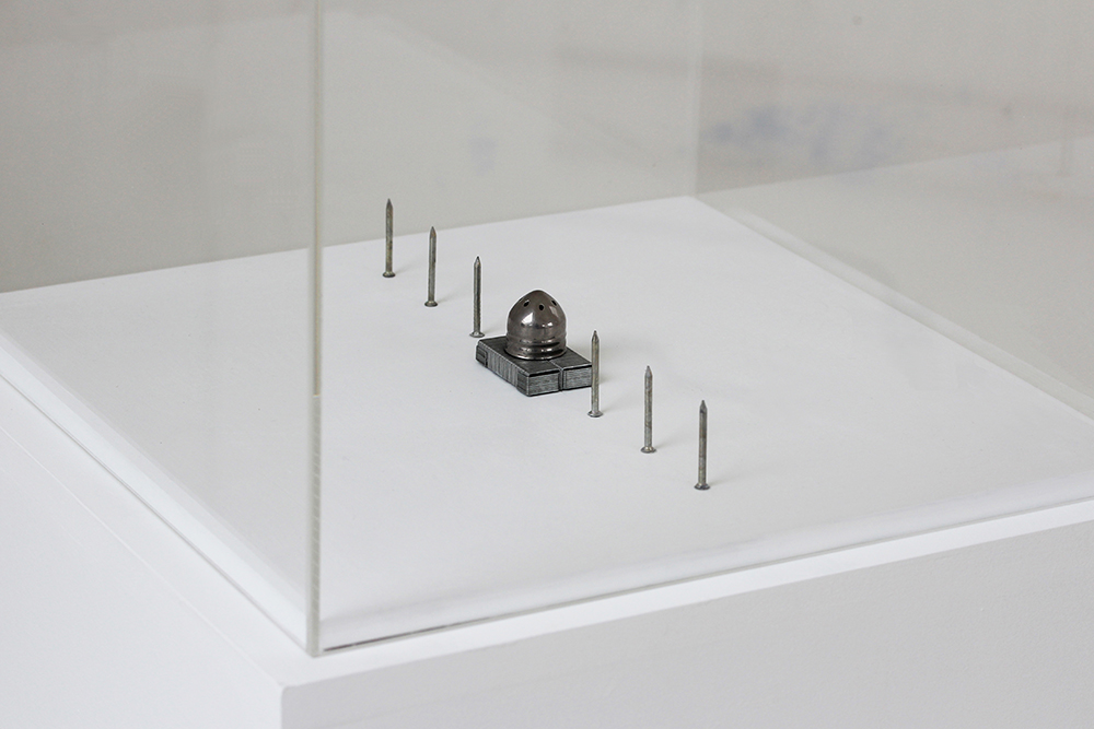 artwork-monument-for Man Ray-found materials