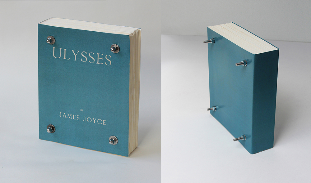 Ulysses Bolted-first edition replica-bolted at 4 corners