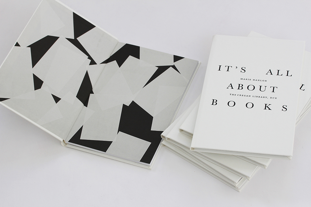 publication for exhibition-It's All About Books-Cregan Library, DCU
