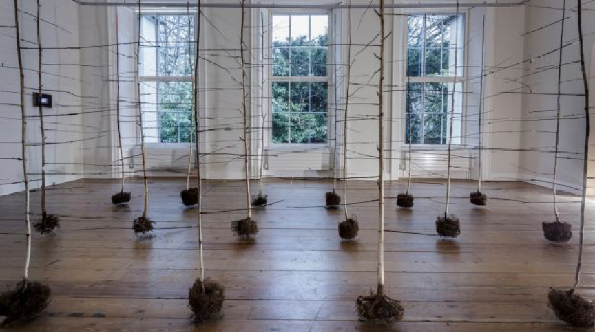 Anita Groener-art installation-The Past Is A Foreign Country